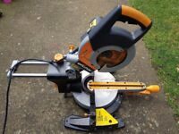 Evolution Mitre Saw 110v