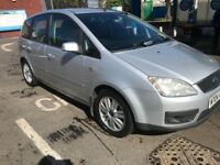 2004 Ford Focus c-max ghia 2.0L 5 foot hatchback manual 6 speed one year mot
