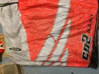Cabrina 9m Dart Kitesurfing Kite.