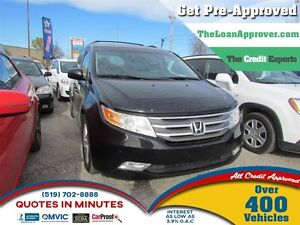 2012 Honda Odyssey Touring | 8PASS | LEATHER | NAV | ROOF | CAM