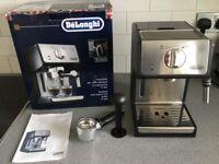 Delonghi pump expresso and cappuccino maker model ecp 35.31