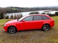 Audi A4 2.0 tdi se avant new model lady owner f/s/h black edition style