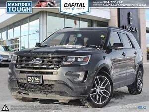 2016 Ford Explorer Sport **Heated Seats-Remote Start-Rear Cam**