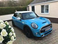 Mini Cooper sd f56 64 2014 fully loaded bmw warranty and service pack