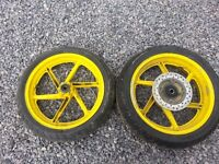 Honda CBR600F3 Rear Wheel + Tyre & Disc (19#)