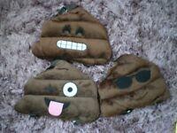 Emoji Poo rucksacks for young kids