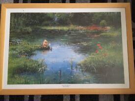 2 Framed Peter Ellenshaw Winnie The Pooh Prints