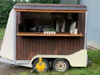 Mobile Catering / Food Trailer - recently converted Horsebox Excellent condition.