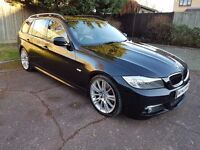 BMW 318I M SPORT TOURING 2.0 BUSINESS EDITION FULL SERVICE HISTORY SAT NAV LEATHER BLUETOOTH BARGAIN