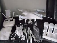 DJI Phantom 4 With All Accessories, Extra Batteries And Hard-Shell Back Pack £700 o.n.o