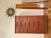 Tallboy Chest of drawers Mid Century Retro vintage