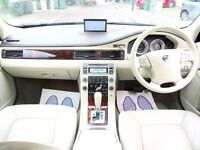 VOLVO S80 2.4 D5 LUX SE AUTOMATIC 4 DOOR SALOON SATNAV CREAM LEATHER TOP SPEC EXCELLENT CONDITION