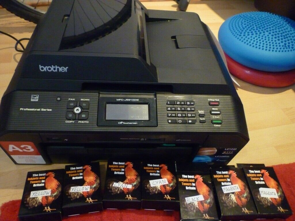 brother printer with inks | in Bournemouth, Dorset | Gumtree