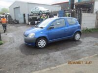 Toyota Yaris GS 1L vvti 2001 breaking for spares Wheel Nut