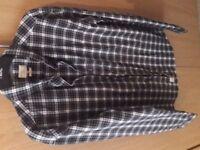 selected homme indigo men's slim fit shirt mint so 42-44