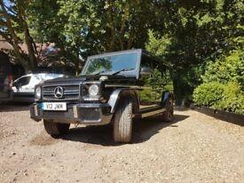 Mercedes-Benz G Class 5.5 G63 AMG Speedshift Plus 7G-Tronic 4x4 5dr