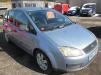 FORD FOCUS C-MAX 1.6 TDCi LX 5dr (silver) 2003