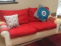 2 x Sofa Workshop Dali Three Seater Sofas for Sale!!