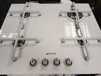 Smeg hob PV164 - Gas on glass hob - £399- full manufacturers wrty