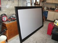 fixed projector screen see pictures supplied pick up only