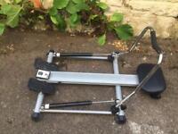 Carl Lewis ROM50 compact rowing machine