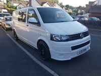 VW Transporter Camper Conversion T5- Air Con- LWB- No Vat