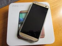 HTC ONE Mini 2 Rose Gold on 02