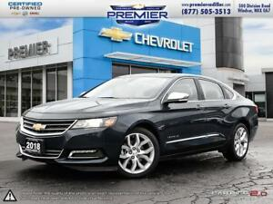 2018 Chevrolet Impala Premier LEATHER SUNROOF NAVIGATION 2LZ PAC