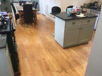Kahrs Engineered Oak Wood Flooring (Used)