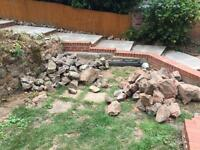 Rockery /wall stone