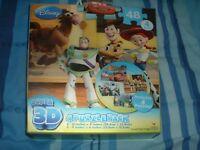 DISNEY.super.3 d .4 puzzle pack..