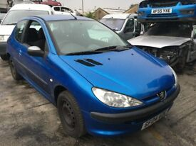 2004 PEUGEOT 206 S (MANUAL PETROL)- FOR PARTS ONLY