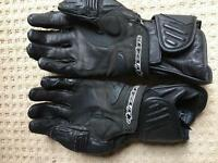 Alpine stars motorcycle gloves
