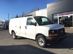 2012 GMC Savana Savana G2500 with Shelving and Safety Partition.