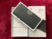 Google Pixel 2 XL 128gb Just Black Factory Unlocked