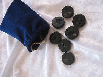 Runenset aus Horn