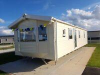 Brand new static caravan for sale including fees in Skegness/Mablethorpe/Ingoldmells/LOW GROUND RENT