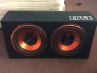Edge double 1800 watt sub with built in amp