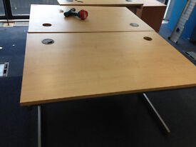 office rectangle desk 120cm length