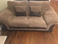 Free - 3 seater Findlay DFS sofa one year old