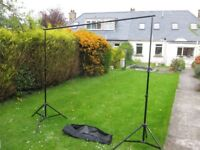 Studio Stand to Hang Background Cloths for Portraiture