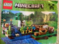 Minecraft the farm Lego 21114