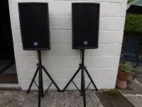COMPLETE PA SYSTEM including all leads