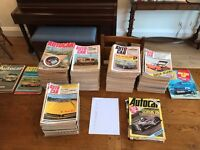 Autocar magazines from 1969 to 1977. Good condition.