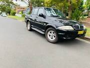 DIESEL TURBO 2006 Ssangyong Musso Dual Cab LOW KS LONG REGO CHEAP Miranda Sutherland Area Preview