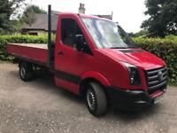 Volkswagen Crafter 2.5TDI drop side truck only 88,000 miles