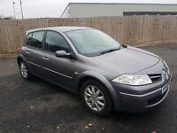 2008 RENAULT MEGANE 1.6 PETROL DYNAMIQUE LOW MILES 82k YEAR MOT ONE OWNER FROM NEW NOT ASTRA