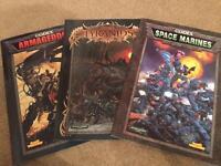 Warhammer 40k Codexs