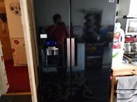 Samsung frigde freezer black