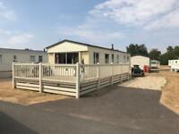 Cheap static caravan for sale at Tattershall Lakes county park